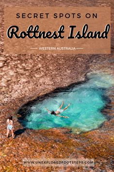 Have you ever wondered where all these amazing rock pools are on Rottnest If you were anything like us we love finding a little pool to swim around in The heart shape ree. Places To Travel, Places To See, Travel Destinations, Australia Destinations, Holiday Destinations, Holiday Places, Australia Beach, Western Australia, Australia Trip