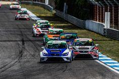 SEAT Leon Eurocup 2015. Estoril. Race 1.