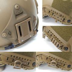 OP Helmet Rail Option Mount Set(Tan)