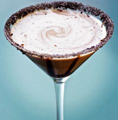 chocolate cherry martini
