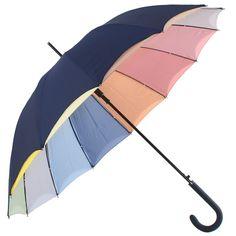 Pastel Rainbow - double skin umbrella - Brolliesgalore