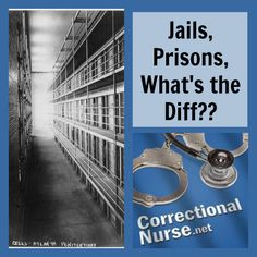 Jails, Prisons, What's the difference? If you don't work in corrections you might not know that there is a big difference between a jail and a prison. The type of healthcare services you provide and the patient community is varied – although there are similar components to each.