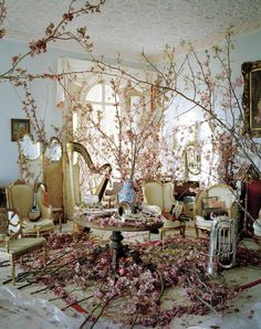"Set Design by Simon Costin for ""Magical Thinking"" shoot by Tim Walker for W Magazine"