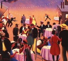 He Painted the Feverish Nights of the Harlem Renaissance: Archibald Motley Harlem Renaissance Artists, Renaissance Artworks, African American Art, American Artists, American Women, Native American, Art Prints For Sale, Fine Art Prints, Archibald Motley