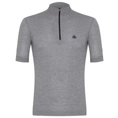 Cafe Grey Cycling Jersey