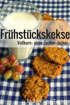 Frühstückskekse You are in the right place about Homemade Baby Foods maker Here we offer you the . Clean Eating Breakfast, Egg Recipes For Breakfast, Quick Healthy Breakfast, Homemade Breakfast, Healthy Cereal, Health Breakfast, Breakfast Ideas, Easy Healthy Recipes, Baby Food Recipes