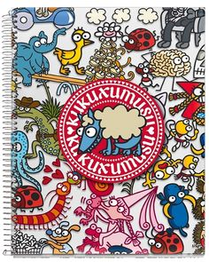 Kukuxumusu Mix Notebooks