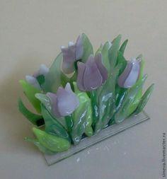 Купить Салфетница Тюльпаны в интернет магазине на Ярмарке Мастеров