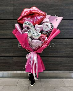 Happy Birthday Art, 16th Birthday Gifts, Girl Birthday Themes, Birthday Gifts For Best Friend, 16th Birthday Decorations, Balloon Decorations Party, Valentines Balloons, Birthday Balloons, Balloon Gift
