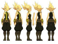 Anime Elf, Anime Naruto, Female Character Design, 3d Character, Film D, Female Characters, Fictional Characters, Art Tutorials, Elves