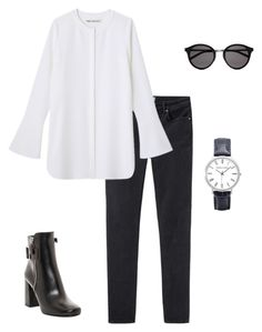 """""""#061"""" by driasmode ❤ liked on Polyvore featuring Acne Studios, Prada, Yves Saint Laurent, women's clothing, women, female, woman, misses, juniors and chic"""