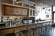Colonie, a traditional recycled restaurant in the heart of Brooklyn