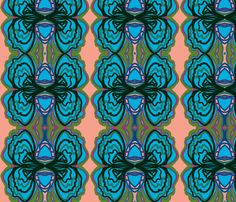 """Crazy Bows"" fabric by elizabethvitale on Spoonflower - custom fabric"