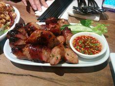 Lao sausages - A: 3 B: 3.5