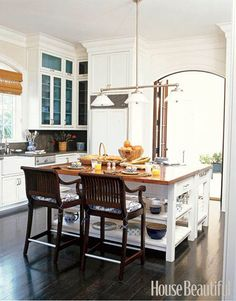 White Kitchens - Designer Kitchens - House Beautiful#slide-1#slide-2