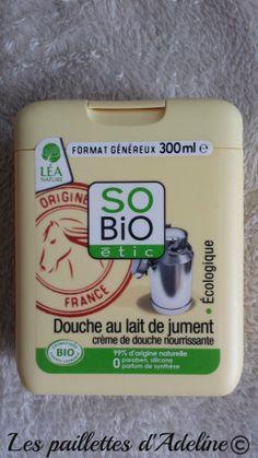 Crème de douche au lait de jument SO BIO ETIC http://www.ayanature.com/fr/gels-douche-et-savons-bio/405-creme-de-douche-bio-au-lait-de-jument-so-bio-etic.html