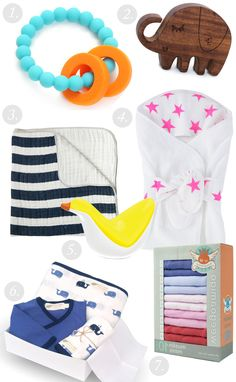 Baby Gift Ideas from The Project Nursery Shop - starting from $13, there's a gift for any price range!