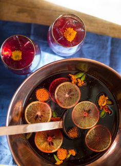Hannah Wooley Punch: Davide Segat, bar manager at London's Punch Room, has taken this classic English punch and updated it with heady Barolo Chinato.