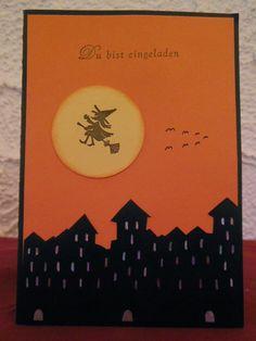 einladung zur hexenparty | einladungskarten zum kindergeburtstag, Einladung