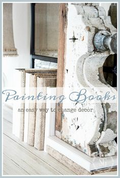 I am so excited to share this oh, so easy DIYwith you today! It can really change your decor. All it takes is a little paint and magic happens! Painting books takes no time at all and the results are amazing!  Just think of all the great colors you can use to create accents …