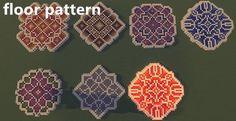 minecraft house floor pattern