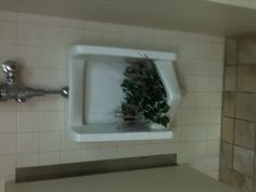 Yes even the men's restrooms were decorated for the conference