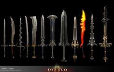 diablo weapon - Google Search