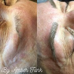 Microblading by Amber Funk from First and Pine in Jena, La  #brows #eyebrows #makeup #esthetics #microblading #semipermanent