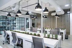 Office Design, Industrial Style. #design #industrialstyle #thymes #rosemary  #interiordesign | Office Design   Miraflores, Lima, Peru. | Pinterest