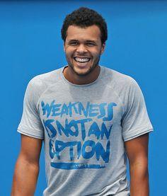 #Tsonga wearing his #motivation #quotes
