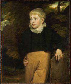 Constable, John - Portrait de Maître Crosby - Philadelphia Museum of Art