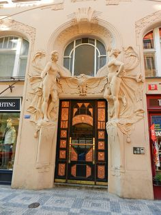 Art Nouveau in the Jewish Quarter of Prague | Flickr - Photo Sharing!
