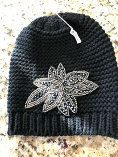 NWT Simply Southern Tees Pom Pom Youth Beanie Toboggan Gray SOLD OUT