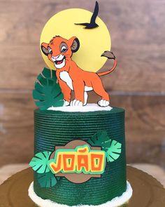 Lion Guard Birthday Cake, Lion King Birthday, Boy First Birthday, Jungle Theme Cakes, Jungle Theme Birthday, Baby Cakes, Girl Cakes, Cupcake Cakes, Lion King Baby
