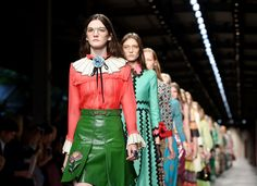 Alessandro Michele delivers a second triumphant collection at Gucci