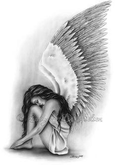 angel wings heaven girl art print emo fantasy girl zindy nielsen is part of Angel drawing - Angel Wings Heaven Girl Art Print Emo Fantasy Girl Zindy Nielsen Fantasyart Sketch Pencil Art Drawings, Art Drawings Sketches, Fantasy Drawings, Fantasy Girl, Dark Fantasy, Body Art Tattoos, Girl Tattoos, Tattoos Skull, Tatoos