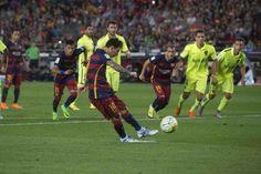 El delantero del Barça falla más de una de cada cinco penas máximas.