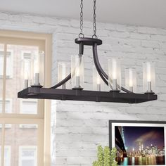 Chantalle 8-Light Candle-Style Chandelier, dining room
