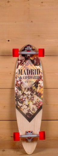 """The Madrid 38"""" Blunt Longboard is designed for carving and cruising."""