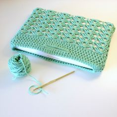Laptop Sleeve Crochet Pattern Fashion Laptop by KnitsForLife, $5.00