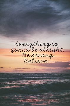 Believe that God will make everything beautiful in it's time!