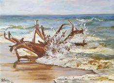 #Bahia #Brasil #Strand #ölmalerei #impressionist #Landschaft #amMeer Am Meer, Impressionist, Strand, Moose Art, Etsy Seller, Bahia, Places, Scenery, Impressionism