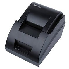 Koolertron High speed Black USB Port 58mm Thermal Receipt Pirnter POS Printer Low Noise Mini Printer           $ 42.06 Receipt Printers Product Features Support store logo download and print (bmp file) Support bar code print Print method:Thermal line printing Drop-in paper loading Support Linux Receipt Printers Product Description Features: Fast printing up to 90mm/sec for both text & graphics Compatible with Epson ESC/POS Support 32bit/64bit Windows Handles max. 5760 thermal..