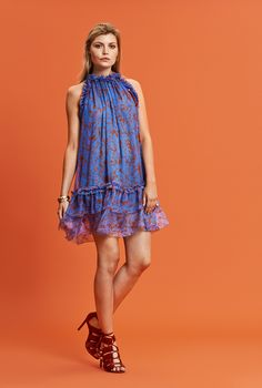Silk Coral Dress – Hanne Bloch