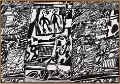 Jean Dubuffet, Site de Memoire III (1979), via Artsy.net