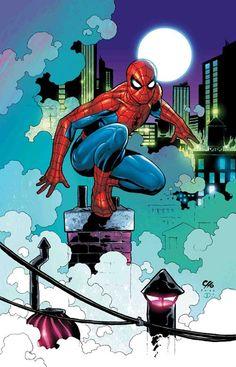 #Spiderman #Fan #Art. (Spider-Man) By: Frank Cho. ÅWESOMENESS!!! [THANK U 4 PINNING!!]