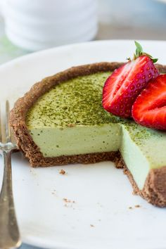Vegan matcha coconut tarts are hard to beat. They're silky smooth, creamy and indulgent. They are gluten-free and refined-sugar free too.