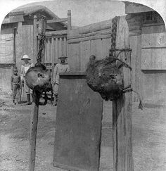 China's Boxer Rebellion in Photos: Execution of Boxers, Real or Alleged