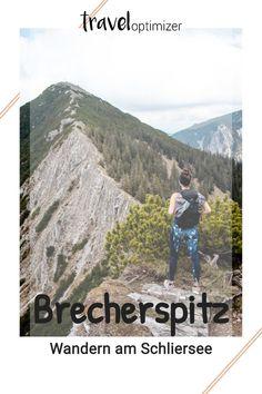 Du planst eine schöne, mittelschwere Wanderung in Bayern? Wir verraten dir die zwei schönsten Routen auf die Brecherspitz. Vom Gipfel aus kannst du die drei berühmten Seen Tegernsee, Schliesee und Spitzingsee erkennen. Eine traumhaft schöne Wanderungen in der Nähe von München in den bayerischen Voralpen. #wandern #wanderbayern Seen, Mountains, Nature, Travel, Europe, Naturaleza, Viajes, Destinations, Traveling