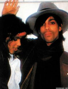 Prince and Vanity 1982. R.I.P. Denise Matthews aka Vanity. Just added our Dear Prince is dearly Departed